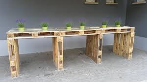 palettenmöbel tisch aus europaletten bauen theo