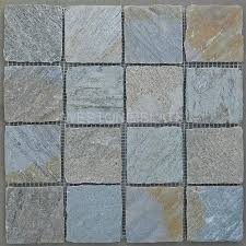 Golden White Slate Mosaic Wall Tile Bigger Square