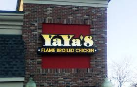 outdoor lighted cabinet signs yaya s in grand blanc mi signs