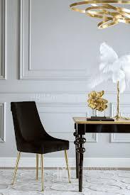 stuhl goldene beine modern