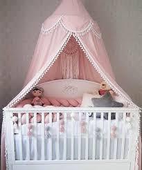 rosa baldachin luxus dach baldachin für babys baldachin für babybett für denkindergarten für neugeborene nbald für mädchen zimmer baumwolldach