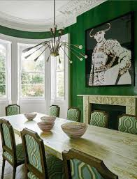 Green Dining Room Furniture Inspiration Ideas
