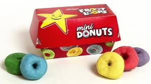Froot Loops Donuts Are The Best Thing Thats Happened At Carls Jr AndHardees