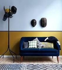 teindre canapé tissu peinture tissu canape salon design africain avec murs peinture