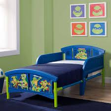 Ninja Turtle Toddler Bed Set by Teenage Mutant Ninja Turtles Plastic Toddler Bed Blue Babies