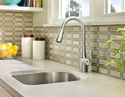 100 Kitchen Tile Kitchen Grease Net Household by Moen Arbor One Handle High Arc Pulldown Kitchen Faucet Featuring