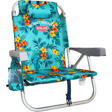 4pc green floral tommy bahama backpack cooler beach chair ebay