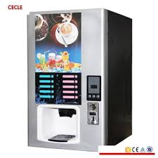 Automatic Coffee Machine Commercial Coin Coffee Tea Machine Hot And