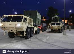 Oshkosh Military Truck Stock Photo: 158781918 - Alamy