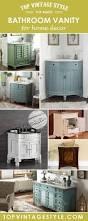 Best Bathroom Vanities Brands by 42 Best Vintage Bathroom Vanity Images On Pinterest Vintage