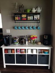 Office Coffee Station Cabinets Best Area Ideas On Nook Tea Part
