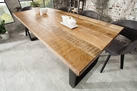 design esstisch 180cm mangoholz industrial riess ambiente de