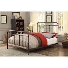 denise austin home yucatan king charcoal iron bed bed frames