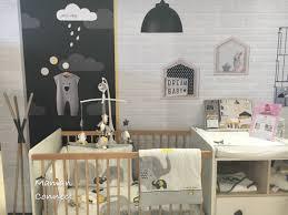 lit et table à langer collectio oslo sauthon baby room yellow
