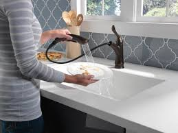 Delta Linden Faucet Stainless by Faucet Com 4353 Ar Dst In Arctic Stainless By Delta