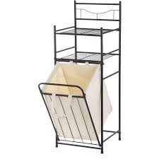 Mainstays Bathroom Space Saver by Mainstays Bathroom Tower With Hamper Oil Rubbed Bronze Walmart Com