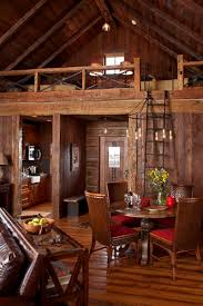 Simple Log Home Great Rooms Ideas Photo by Interiors Cabin Family Room Interior Design Cove Farms