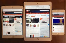 iPhone 6 Plus iPad mini 3 and iPad Air 2 size parison in