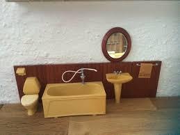 vintage bad möbel lundby puppenstube puppenhaus zubehör