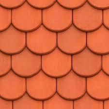 meursault shingles clay roof tile texture seamless 03504