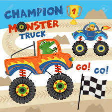 Monster Trucks With Animals On Races- Vector Illustration, Eps ... Pin By Michele Yancy On Monster Jam Pinterest Trucks Rolls Into Tampa Bay Bloggers Charleston Fall Nationals Truck Shdown Myradiolinkcom Crushing It With Family Fun At Monsterjam 24th Annual Dixie Speedway Bigfoot Truck Wikipedia Bktfitted Returns To Europe Tyre Asia Pit Party Hlights Ad Worlds Faest Raminator Specs And Pictures The Story Behind Grave Digger Everybodys Heard Of Trucks With Animals On Races Vector Illustration Eps Brings Monster Fun New Orleans Feb 23