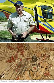 San Bartolo Murals National Geographic by The Rich Dig Deep Archaeology U0027s New Players Wsj