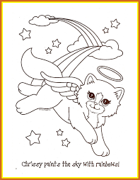 Marvelous Lisa Frank Coloring Pages To And Print For Pict Unicorn Kawaii Popular Games Styles