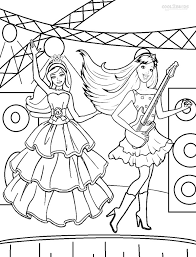 Barbie Princess And The Popstar Coloring Pages Printable Top 36 Free
