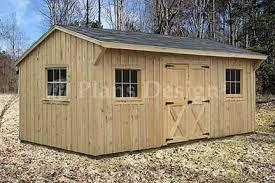 10 x 16 saltbox shed plans storage building ideas pinterest