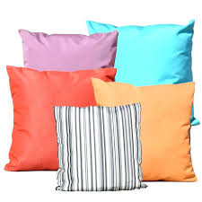 Waterproof Outdoor Pillows Cushions For Furniture Material Clearance