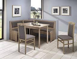 expendio eckbankgruppe boston sonoma 2x stuhl vierfußtisch