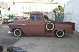 57 Chevy Truck Rat Rod Hot Rod Classic(NO MOTOR OR TRANNY) For Sale ...