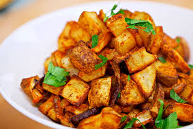 Spicy Baked Home Fries