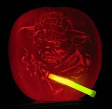 Yoda Pumpkin Stencil by Davey Jones From The Pirates Of The Caribbean Pumpkin Carving