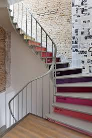organisation decoration cage escalier bois