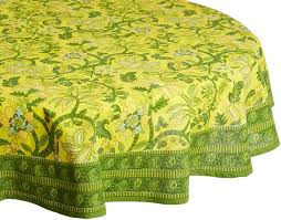Patio Tablecloth With Umbrella Hole by Pretty And Practical Outdoor Tablecloths