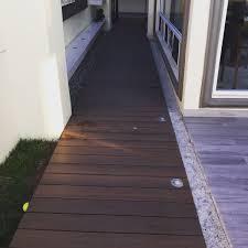 Ipe Deck Tiles Canada by Pasillo Remodelado Con Deck Ultrashield Naturale Tijuana B C