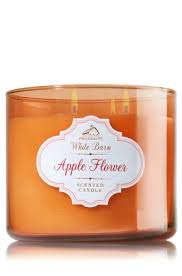 Bath And Body Works Pumpkin Apple Candle by Apple Flower 3 Wick Candle A Pretty Springtime Blend Of Pink