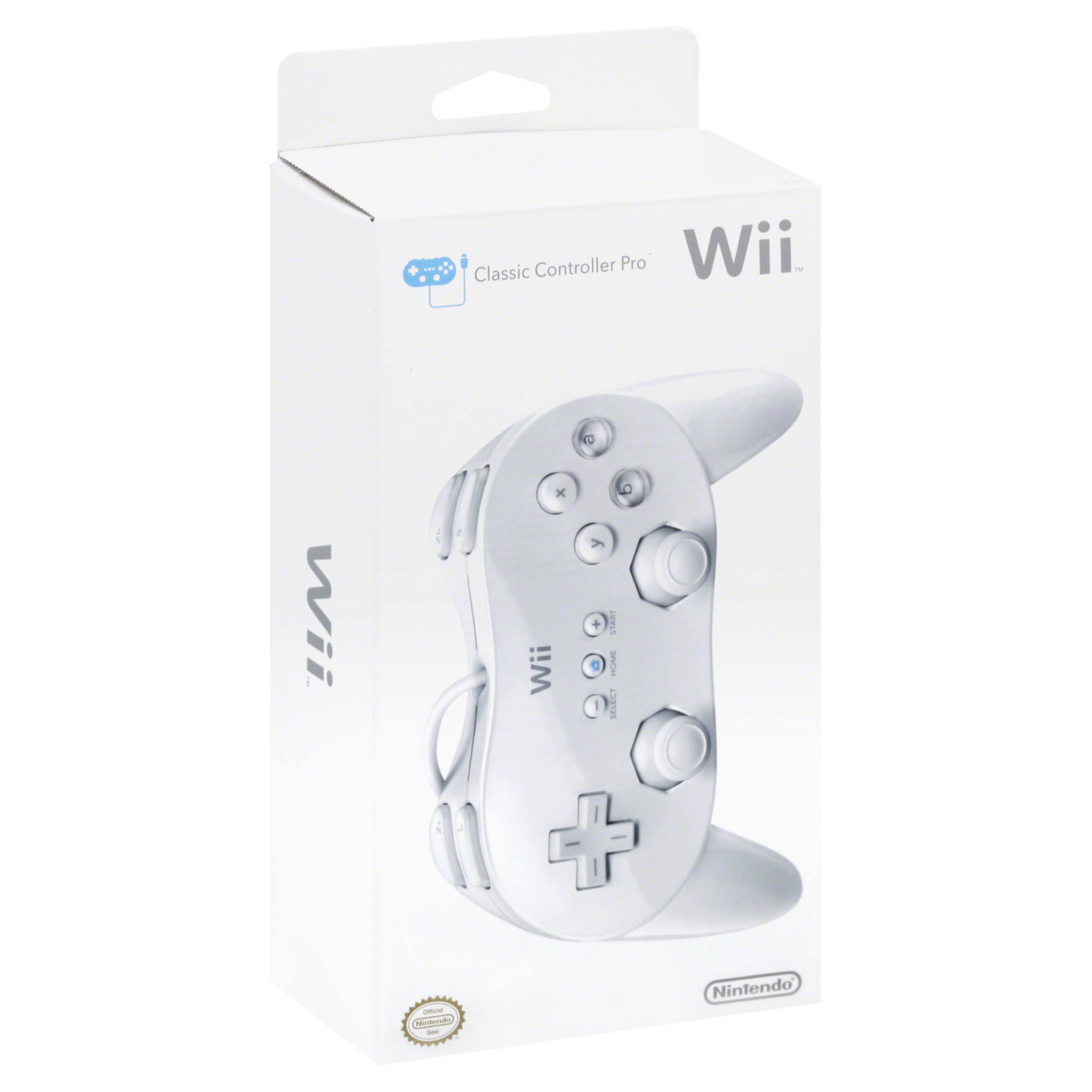 Nintendo Wii Classic Controller Pro - White