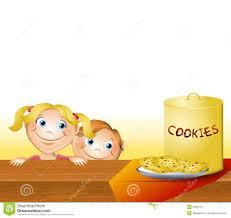 Kids Stealing Cookies