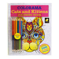 As Seen On TV Colorama Cats Kittens Coloring Book Alternate Image
