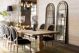 Earthy Chic Rustic Dining Room Tables