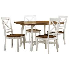 Amelia Two-Tone Table And Chair Set By Standard Furniture At Knight  Furniture & Mattress