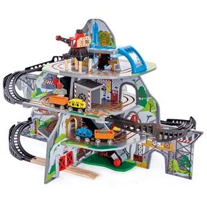 Wooden Train Construction Set: Hape Mighty Mountain Mine