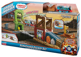 Tidmouth Shed Deluxe Set by Image Trackmaster Revolution Scrapyardescapesetbox Jpeg Thomas