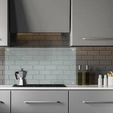 spritzschutz küche 120cm küchenrückwand herdblende glas küchenspiegel wandschutz