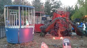Californias Great America Halloween Haunt 2017 by Review Six Flags Great America Fright Fest 2015 Count Gregula U0027s