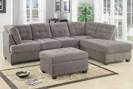 Bonded Leather Sofa Also Double Chaise Lounge As Well The pany