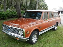 1972 CHEVROLET SUBURBAN 3 DOOR suv classic g wallpaper