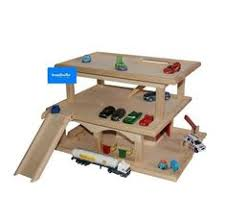 toy garage wooden diy designed and build includes battery